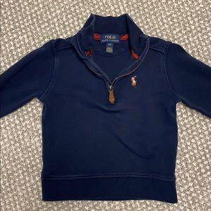 Ralph Lauren Polo Navy 1/4 zip